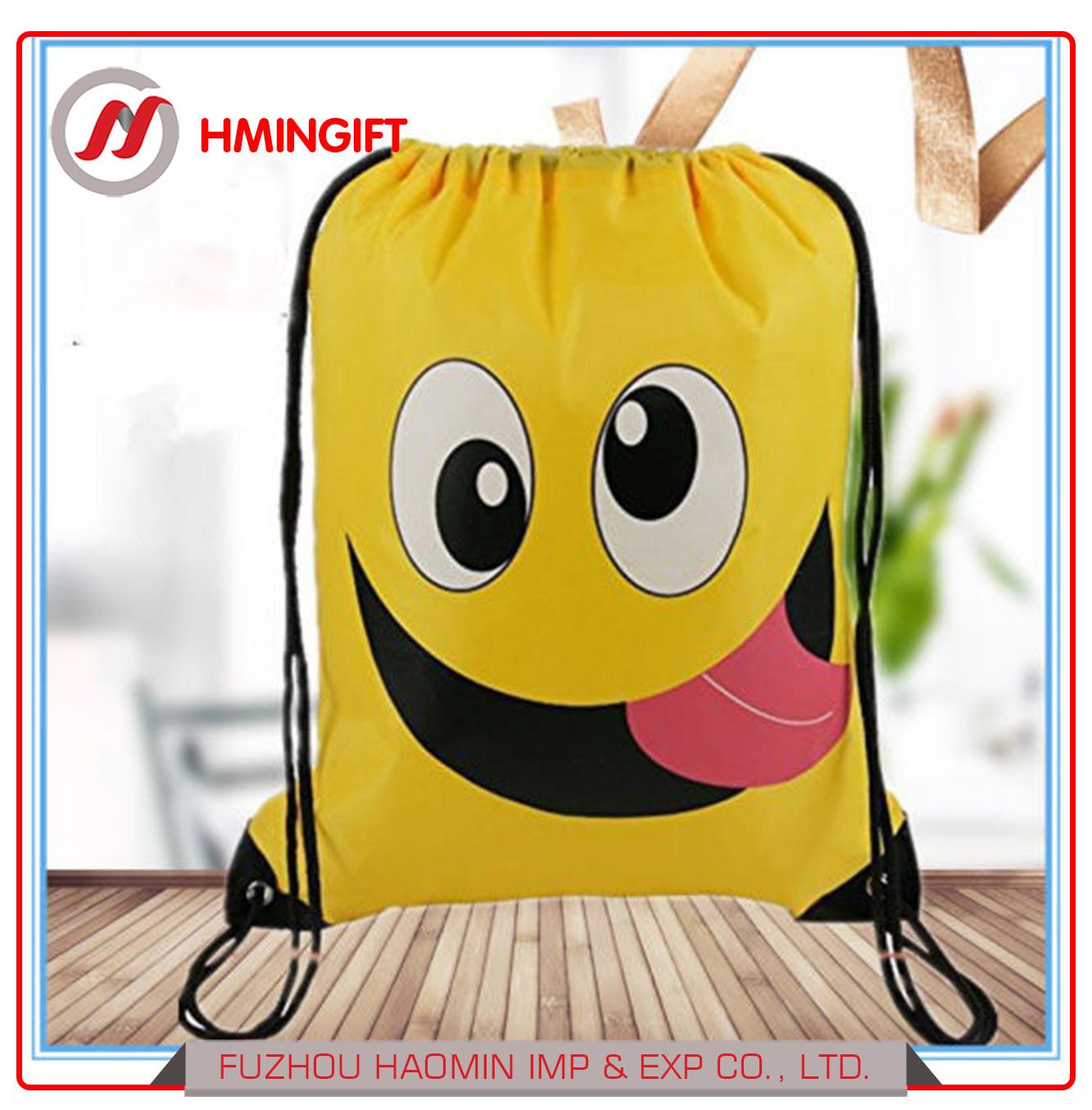 Cute Emoji Drawstring Backpack- Fenix Toulouse Handball 03c1470a84dc8