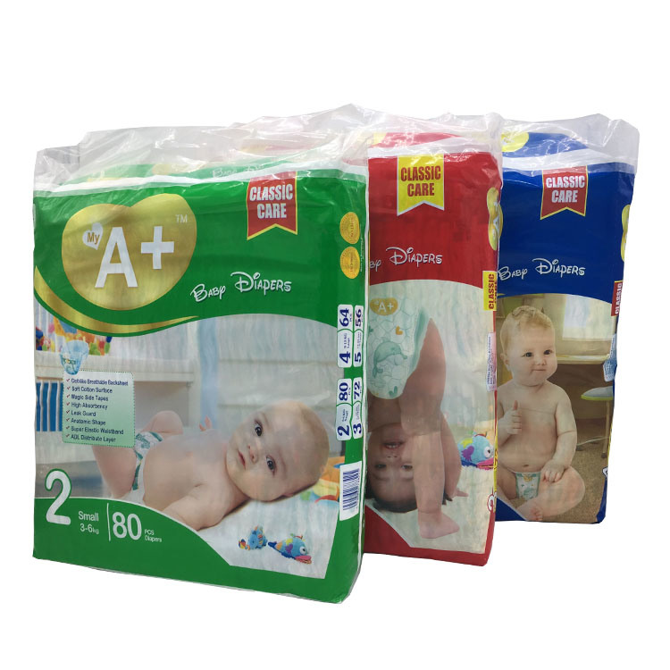 AAA Quality Attractive Price Disposable Baby Diaper Manufacturer From China