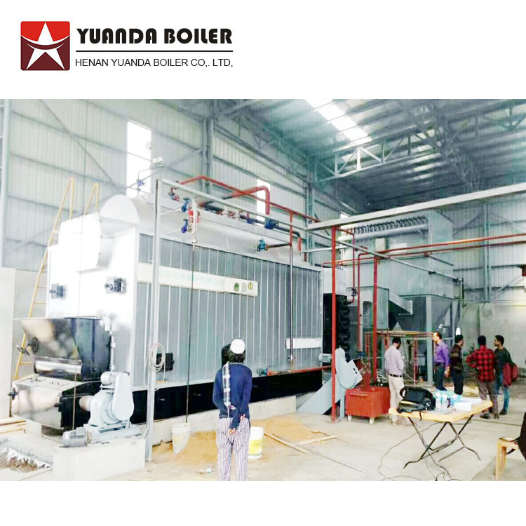 [Hot Item] Wood Rice Husk Fired Steam Boiler for Textile Industry