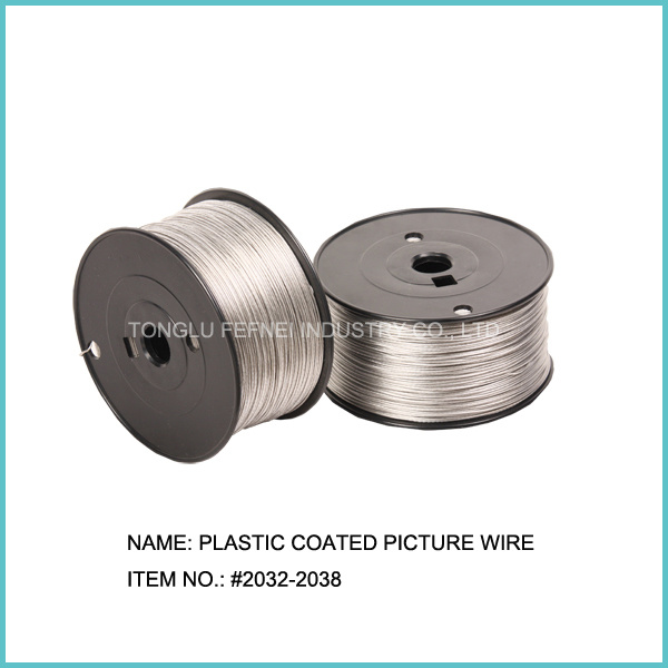 plastic Coated Picture Frame Hanging Wire