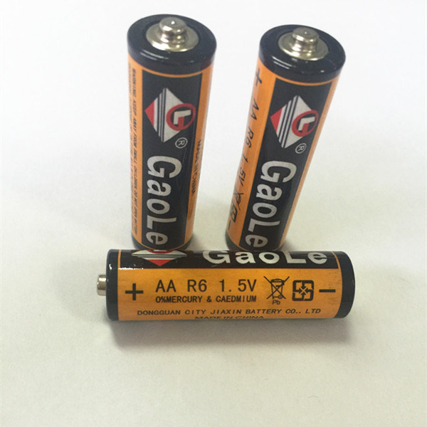 R6p Dry Cell Toys Battery (3PCS Shrink Pack) Real Image