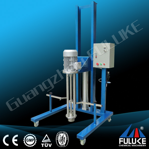 Stainless Homogenizer Electric Pneumatic Disperser Liquid Chemical Mixer