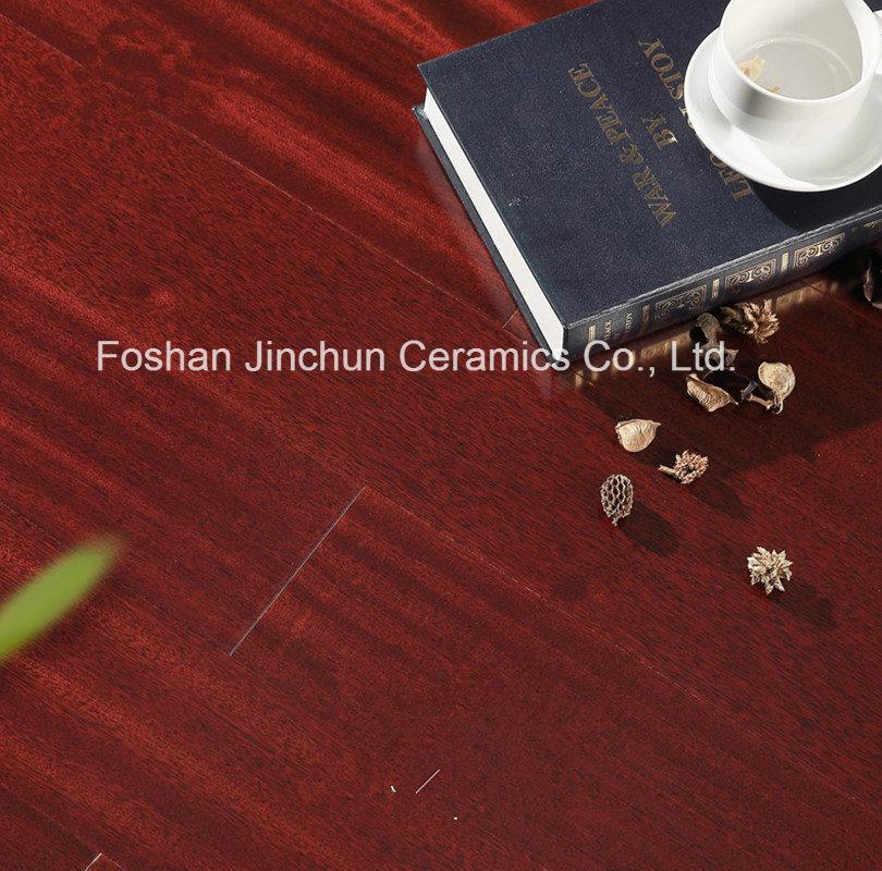 China Gloosy Wax Series Laminate Flooring Tile Lamina