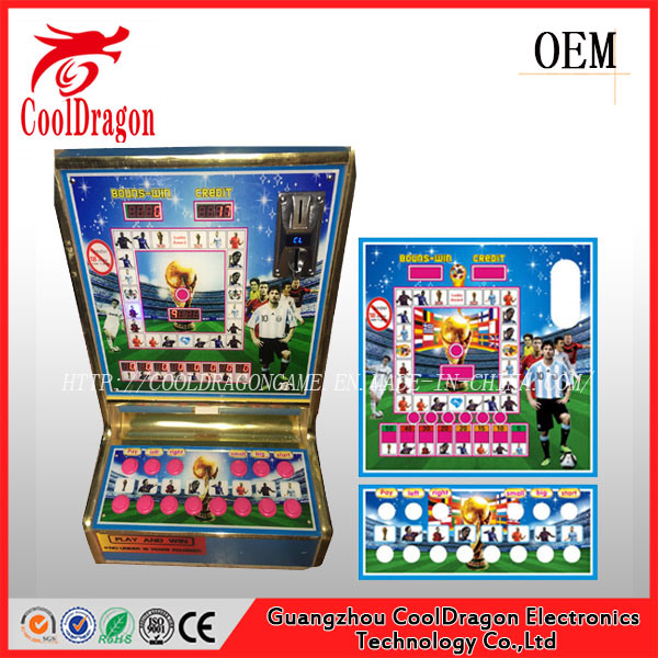 Coin Operated Slot Machine Game