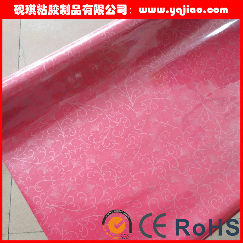 PVC High Gloss Cold Lamination Wrapping Film for Cabinet, Furniture, and Panels