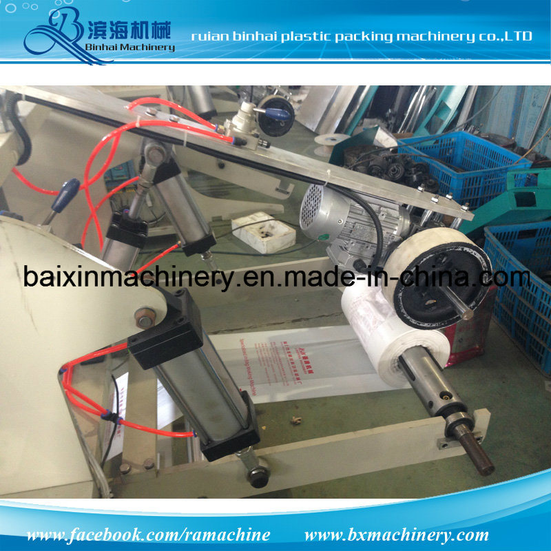 Automatic Handle Shopping Bags T-Shirt Bag Making Machine pictures & photos