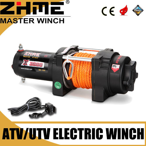 [Hot Item] 3000lbs 12 Volt Electric Small Winch with Wireless Remote Control