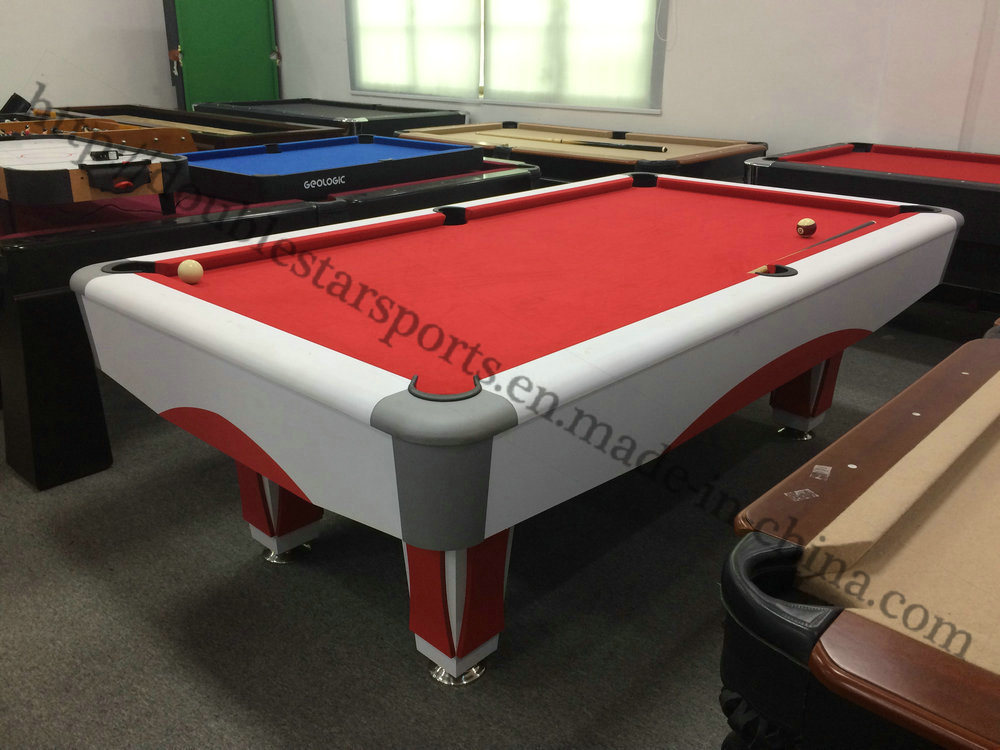 China Cheapest Price MDF Double Star Billiard Table For Sale China - Star pool table