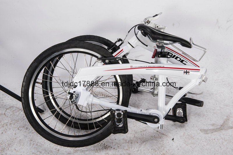 Girls Free Style 20′′folding Bike No Chain Bike, Bicycle pictures & photos