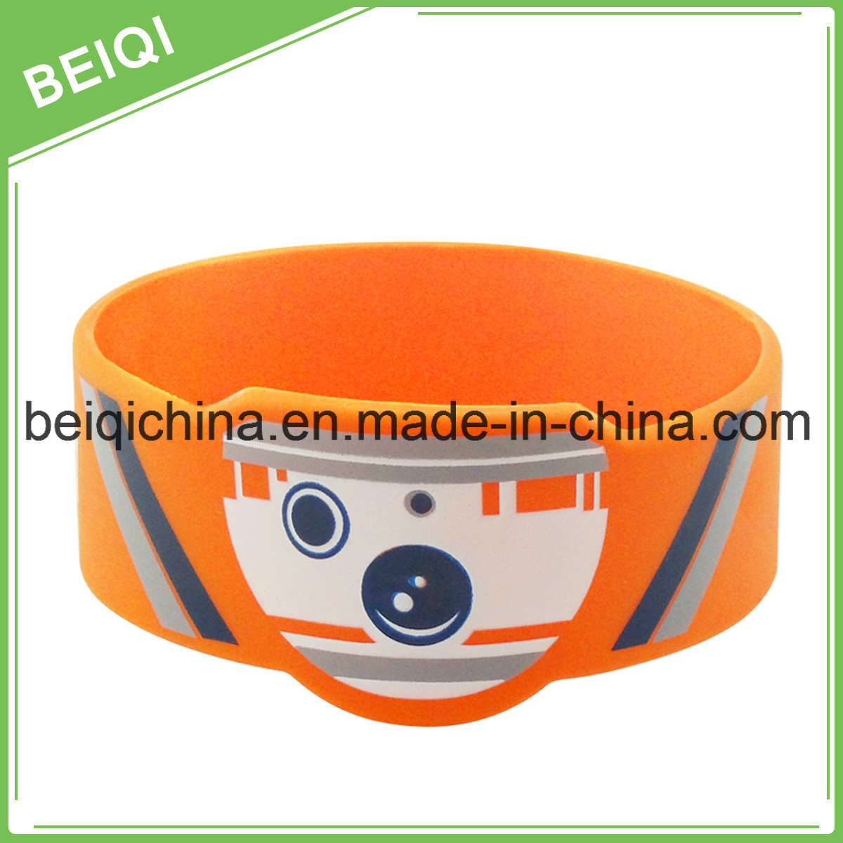 Cheap Promotional Silicone Bracelet with Custom Logo