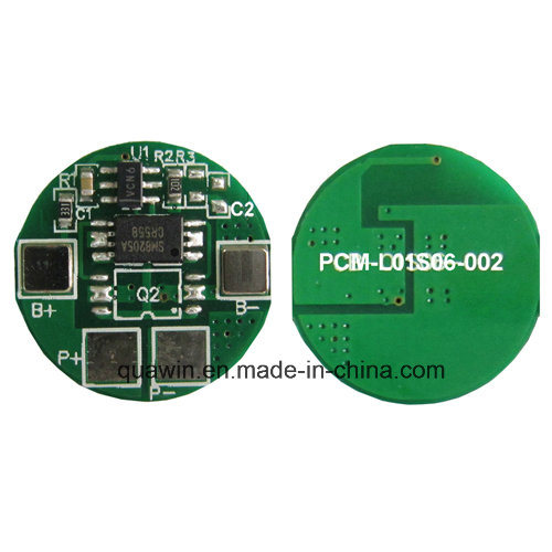 [Hot Item] 1s BMS Protection Circuit Module for Li-ion/LiFePO4 Battery Pack