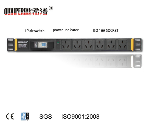 PDU Witch Air Switch ISO 16A