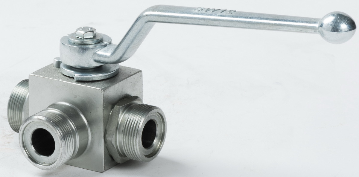 High Pressure Stainless Steel 3way Ball Valve