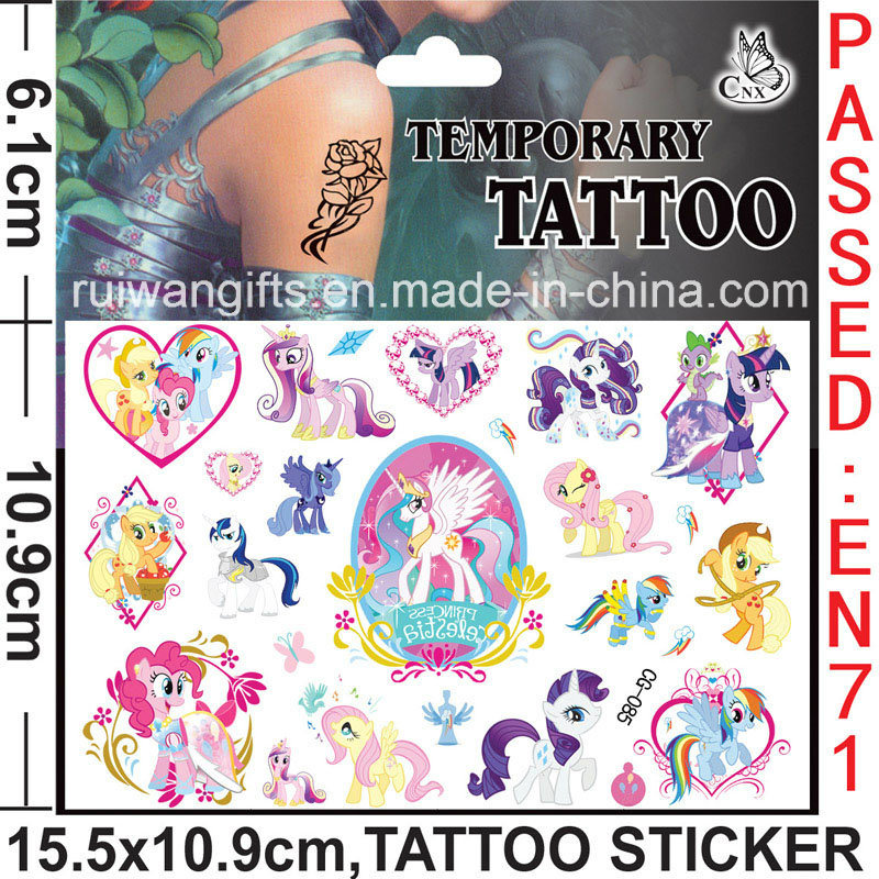 China Wholesale Temporary Tattoo Sticker With En71 Certification