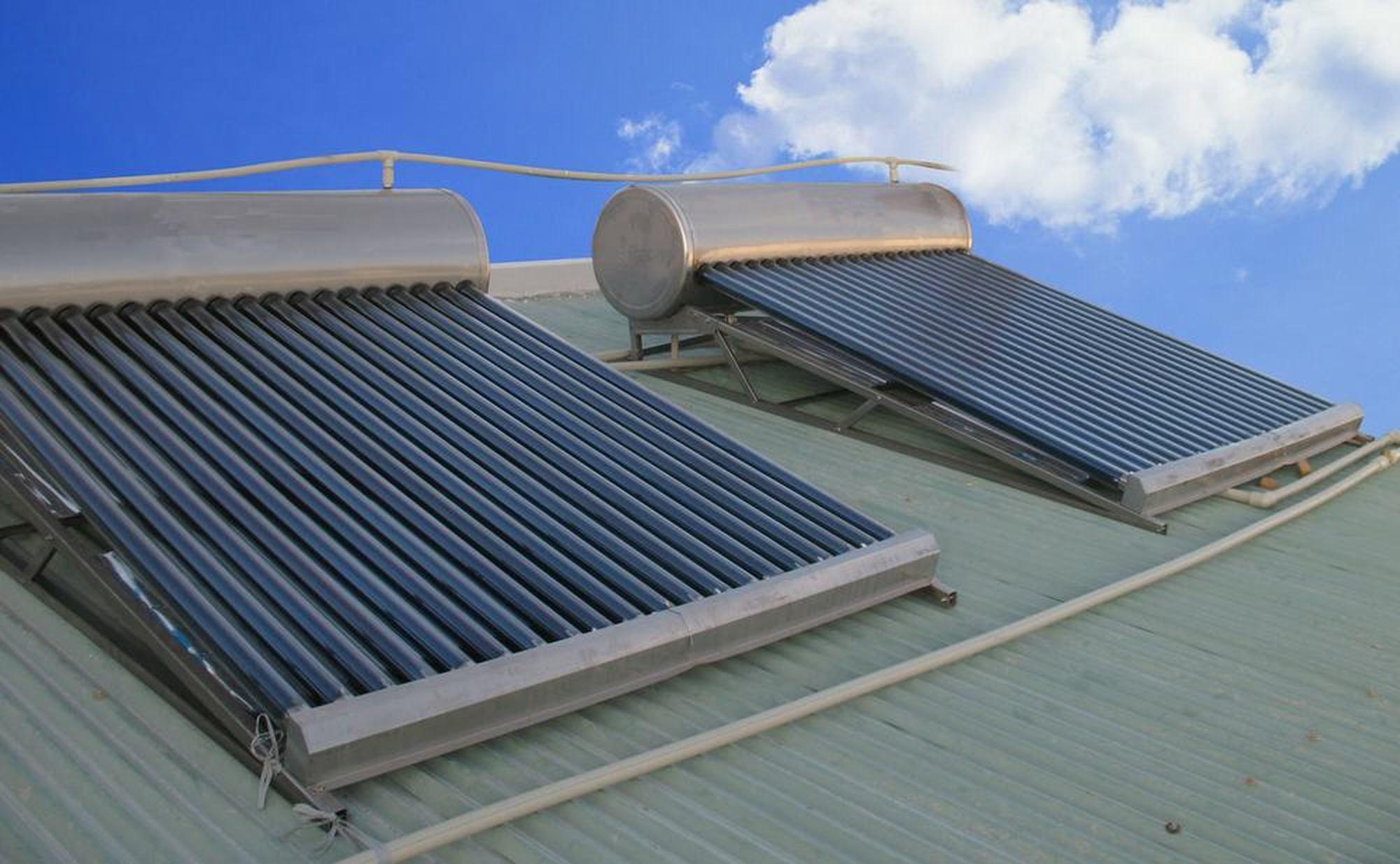 China Solar Water Heater Pitched Roof China Solar Water