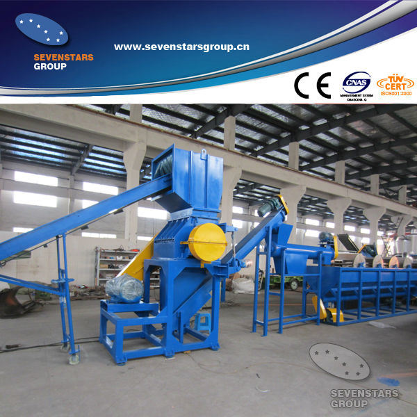 Enviromental Protecting PE Film Washing Plant (PE 1000)
