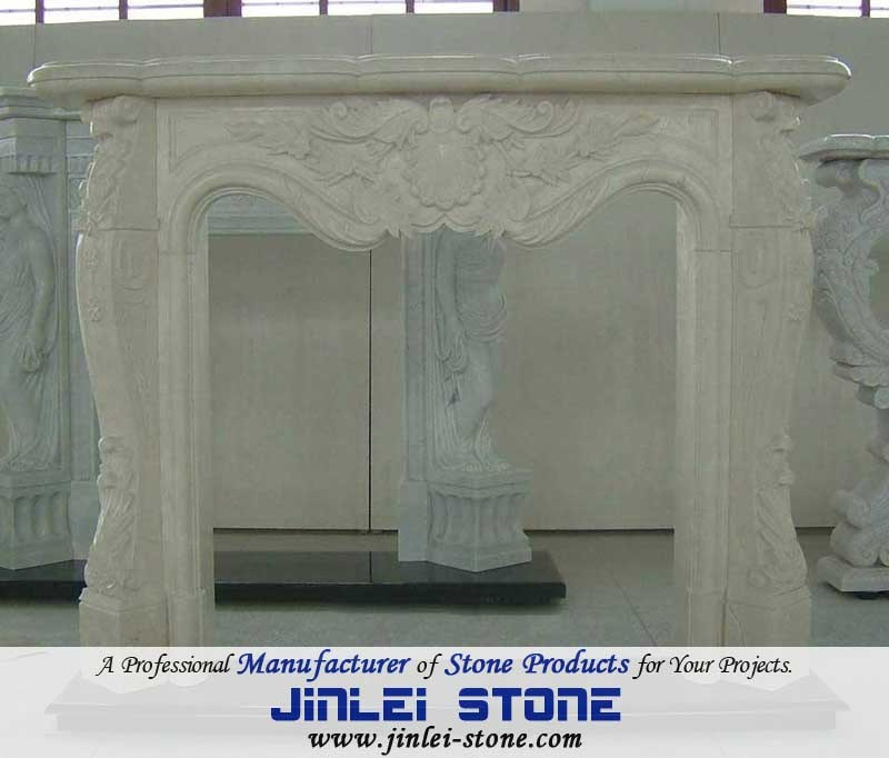 Astonishing Hot Item White Hand Carved Natural Marble Stone Fireplace Download Free Architecture Designs Lukepmadebymaigaardcom