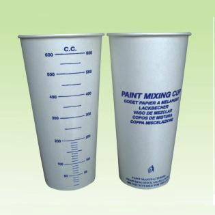 Disposable 22oz Paper Mixing Cup for Mixing Paint