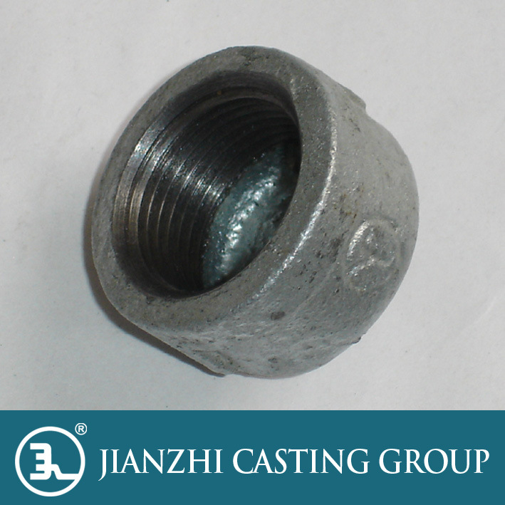 Malleable Iron Pipe Fittings Cap pictures & photos