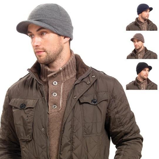 China Visor Beanie Hat with Brim Fashion Winter Hats (XT-B009) - China  Beanie 22a780a0bb2