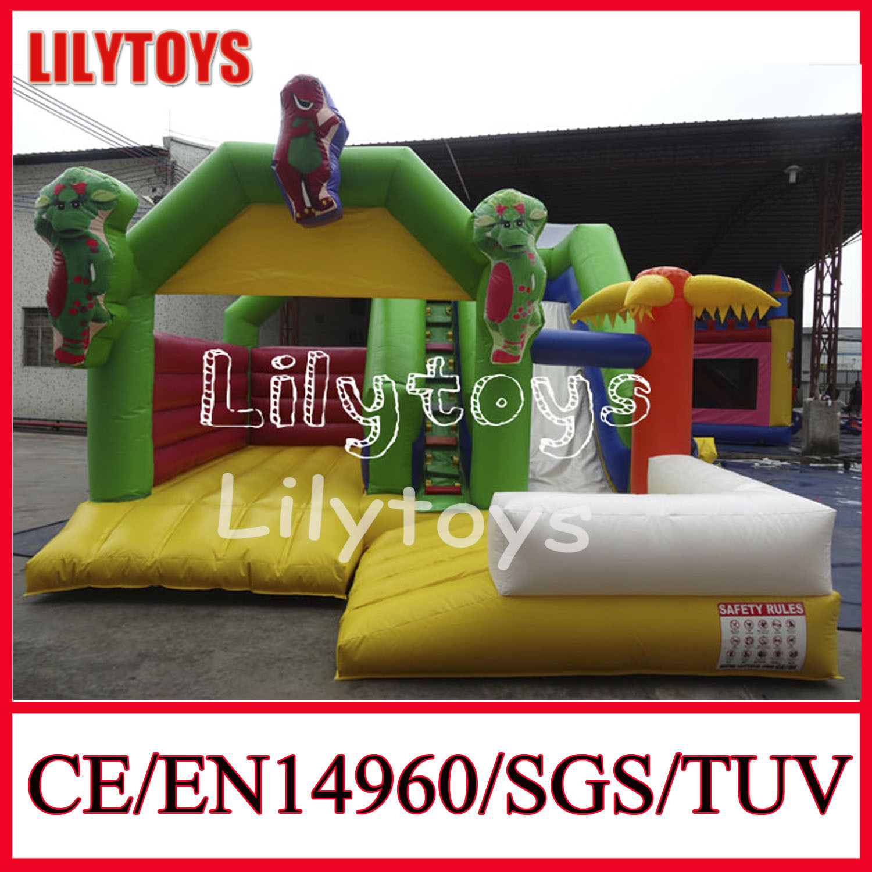 Superb Hot Item Commercial Barney Inflatable Bouncer Castle For Sale Download Free Architecture Designs Meptaeticmadebymaigaardcom