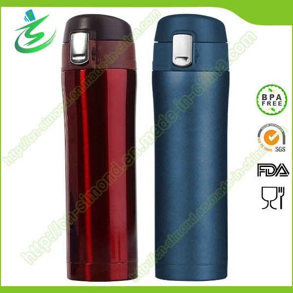 Stainless Steel Insulated Travel Coffee Mug, 16 Oz