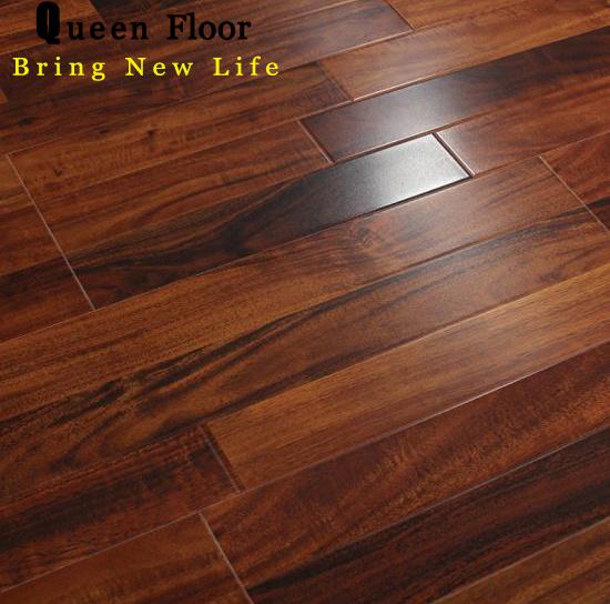 3 Strips Design Wood Laminated Flooring, Best Quality Laminate Flooring