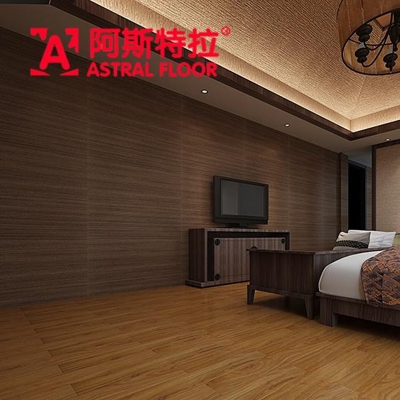China Vene Material Silk Surface Melamine Engineered Flooring Laminate Ay1706 Wood