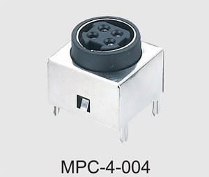 Mini DIN Power Connector (MPC-4-004)