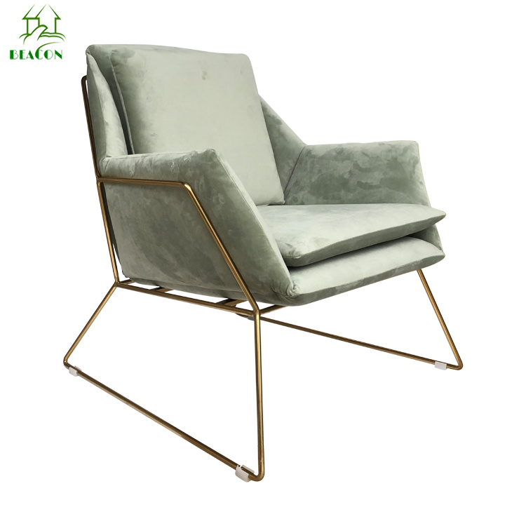 China Living Room Luxury Modern Designpu Accent Chair With Arms China Living Room Furniture Bedroom Furniture
