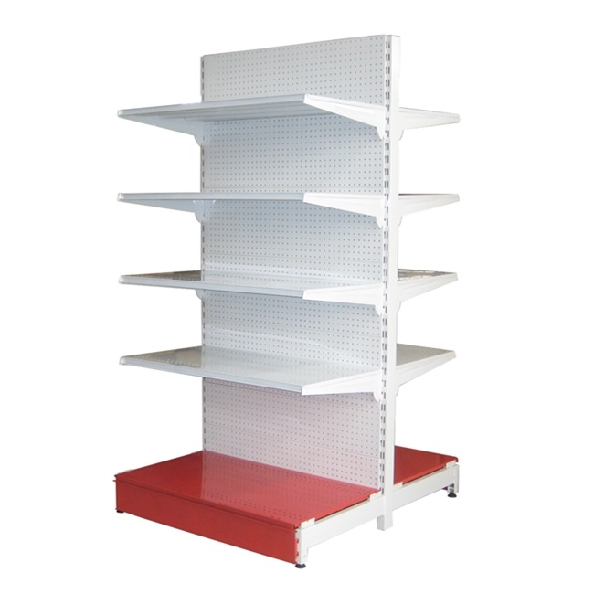 Metal Gondola Display Supermarket Shelving From China Factory pictures & photos