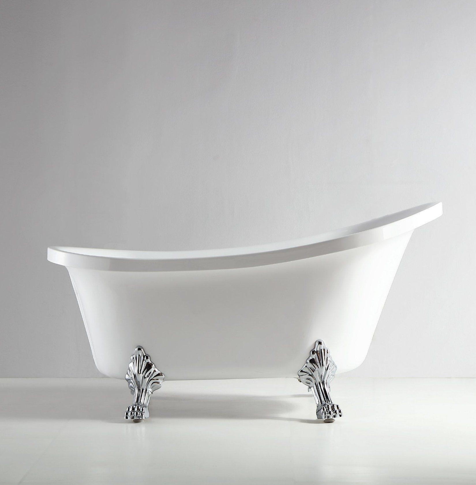 Hot Item Foshan Acrylic Claw Foot Freestanding Shower Tub 1 5m Q371s 150