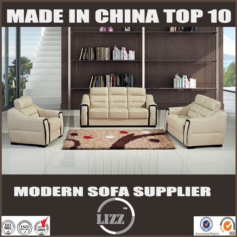 [Hot Item] Modern Sectional Top Italian Leather Sofa (Lz538)