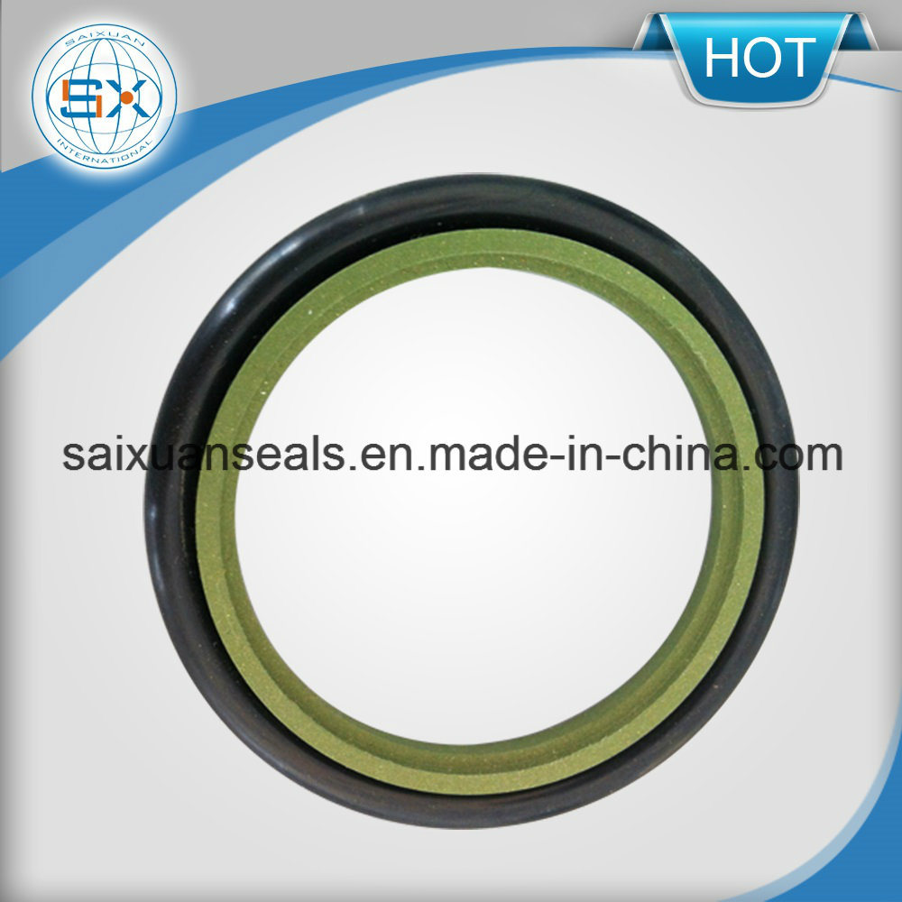 Motorcycle Parts PTFE and Bronze Hydraulic Step Seal for Excavator pictures & photos