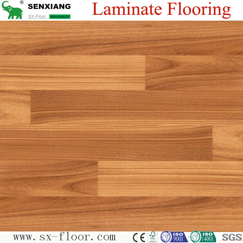 China 8mm Hdf Classic Crystal Ac3 Affordable Wooden Laminate Flooring Laminated