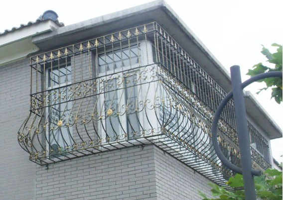 Modern Iron Grill Design For Balcony Image Balcony And Attic