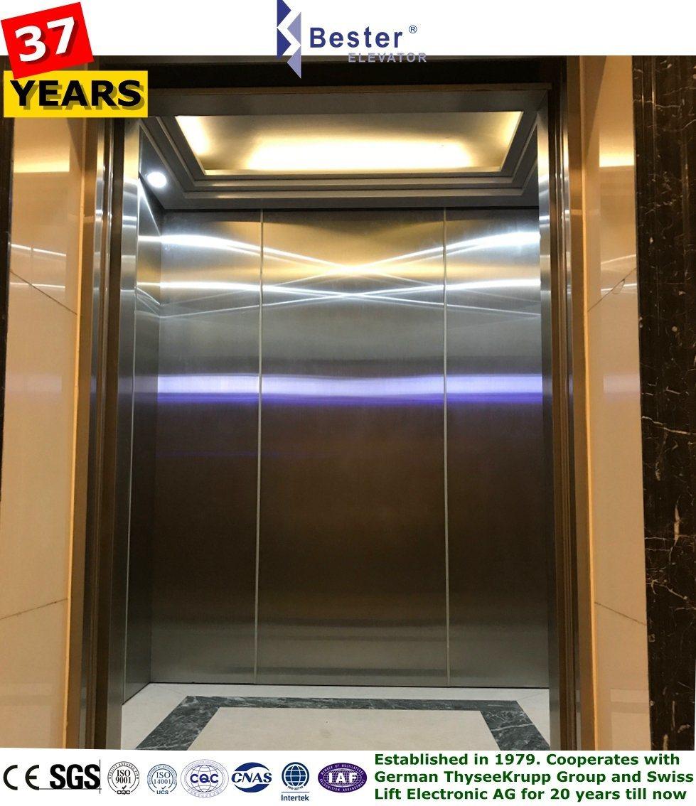 [Hot Item] FUJI Mitsubishi Schindler Passenger Lift Elevator 450kg with  Machine Room