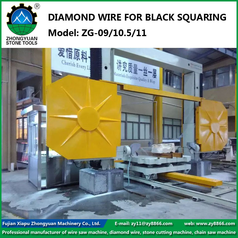 China Block Squaring Plastic Diamond Wire Saw for CNC Block Squaring ...