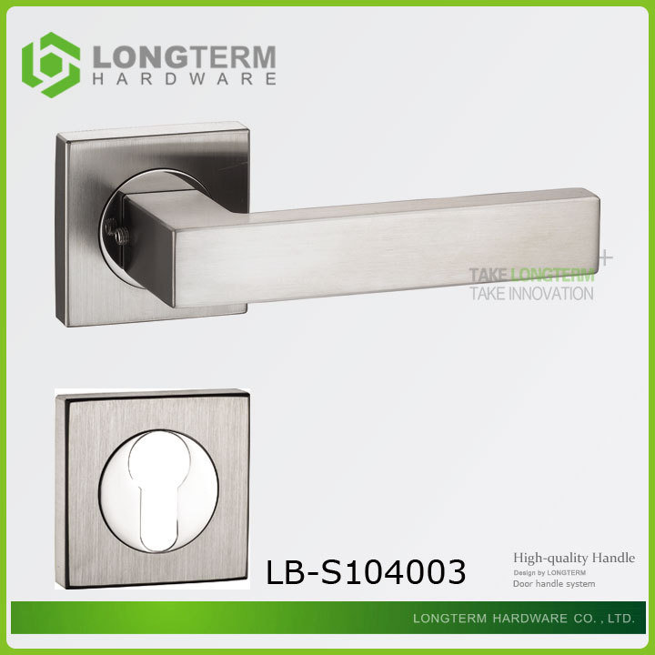 2016 New Promotional Stainless Steel Door Handle Lock pictures & photos