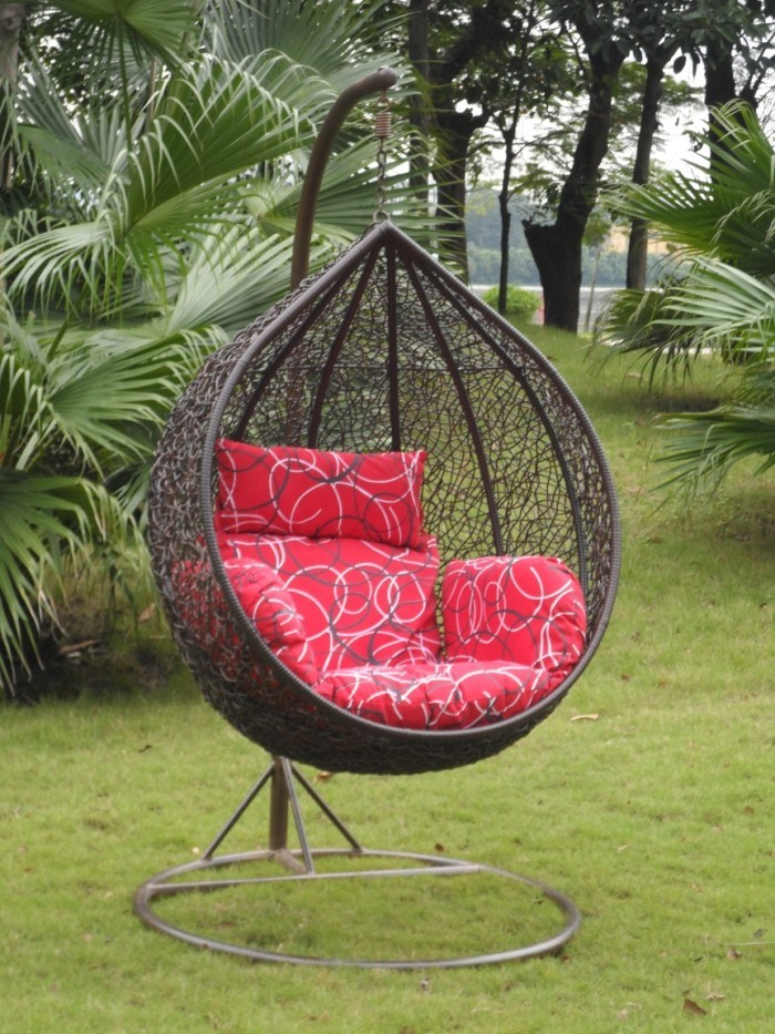 China Outdoor Furniture Rattan Egg Hanging Chair Nest Swing China Wicker Furniture Rattan Furniture