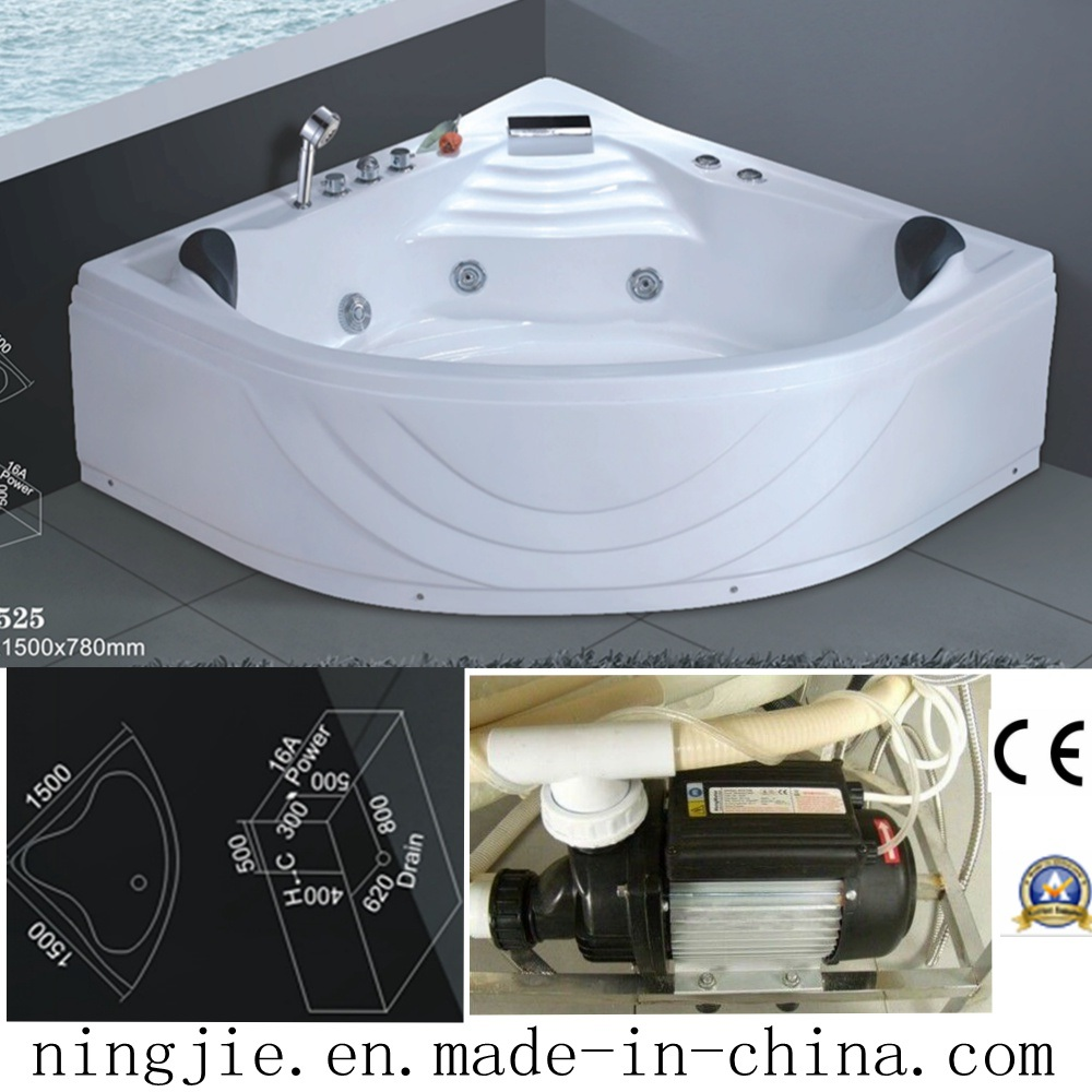 China Sanitary Ware Bathroom Acrylic Massage Bathtub (525) - China ...
