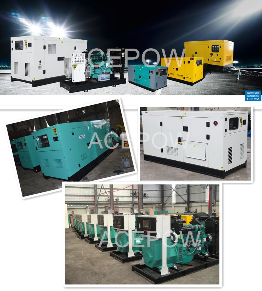 60kVA 3 Phase Cummins Diesel Generator with ATS