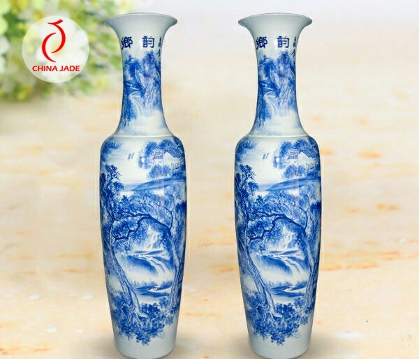Antique Chinese Porcelain Blue And White Vase China Blue And White