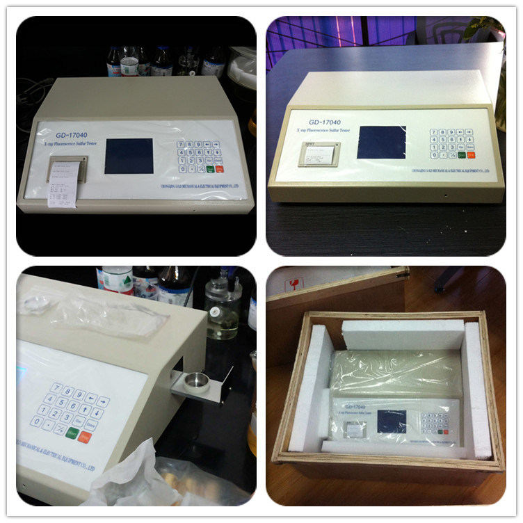Gd-17040 China Ultraviolet Fluorescence ASTM D4294 Low Sulfur Content Analysis Equipment