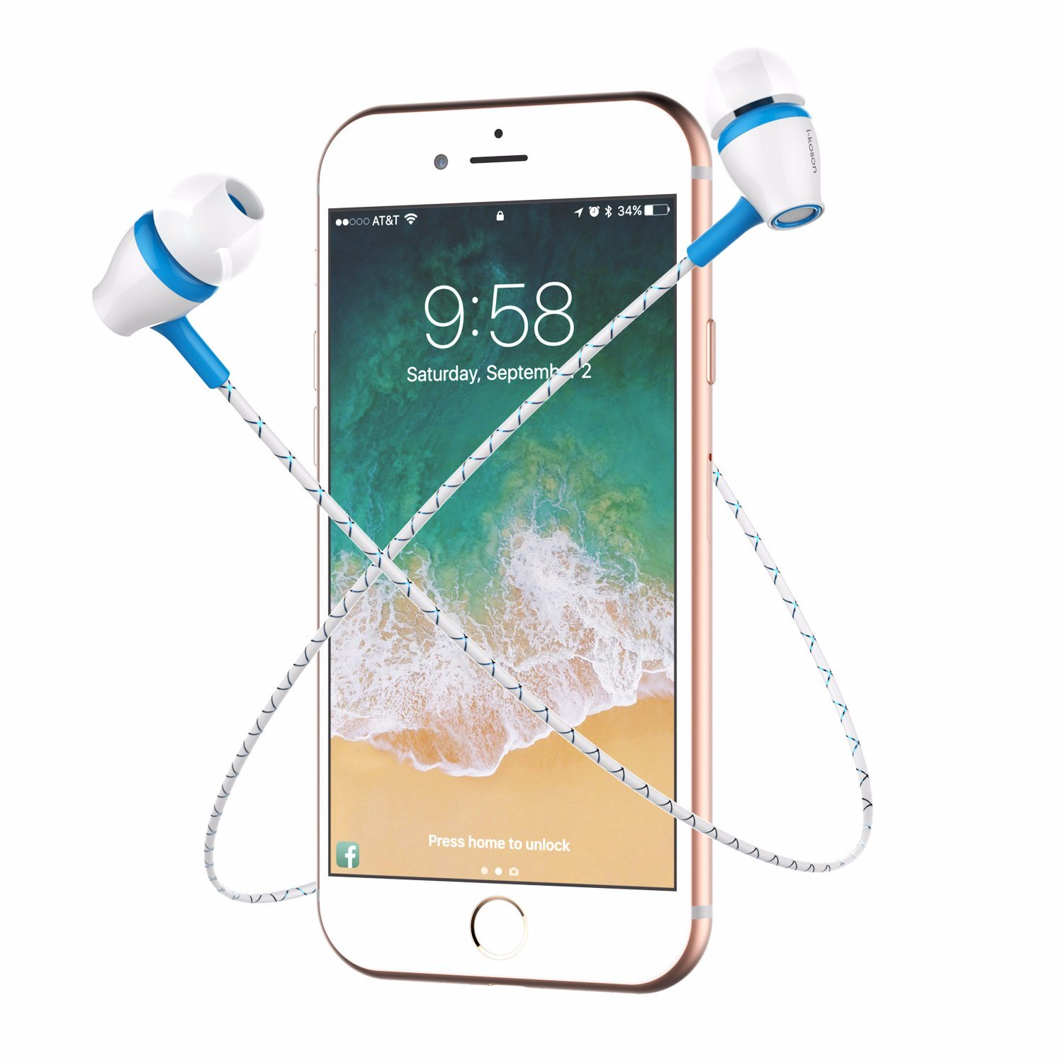 China TPE Wire in-Ear Hi-Fi Mobile Phone Color Stereo Earphone ...