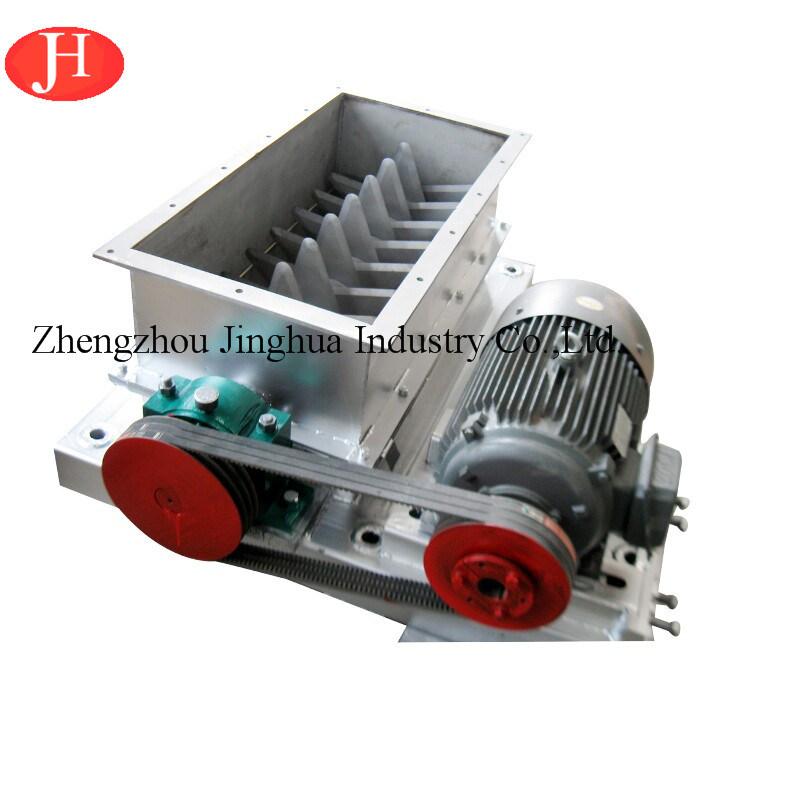 China Fresh Cassava Tube Cutting Crusher Equipment / Tapioca Starch Machinery for Sale