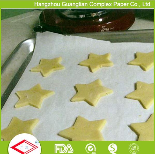OEM Silicone Coated Non-Stick Baking and Cooking Paper in Rolls pictures & photos