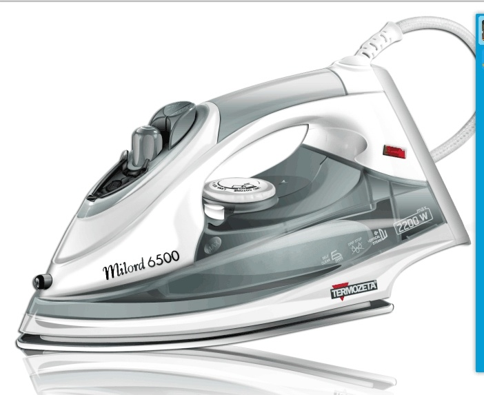 GS and CB Approved Steam Iron (T-610 Blue)