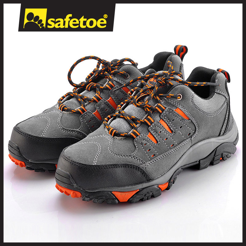 China New Style Suede Sport Safety Shoe