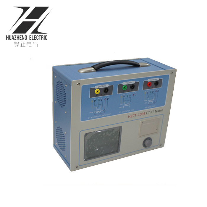 China Hzct-100b Current Transformer Tester / Transformer Polarity